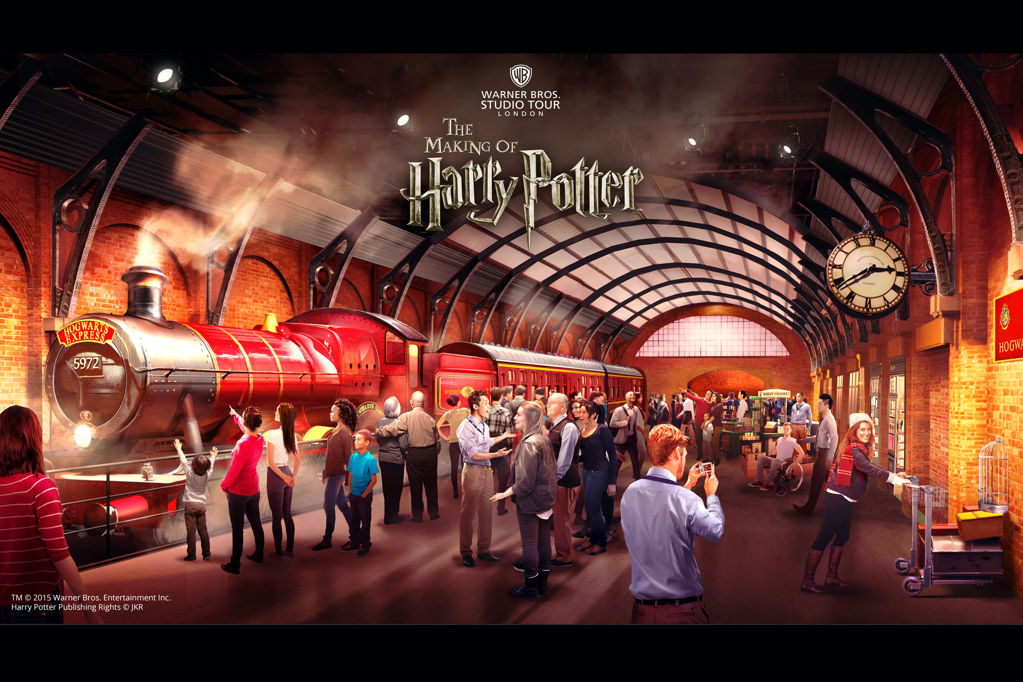 Win one of 15 family tickets to see the Hogwarts Express before its official opening