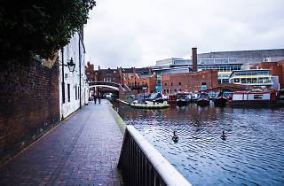 Gas Street Basin & Brindley Place