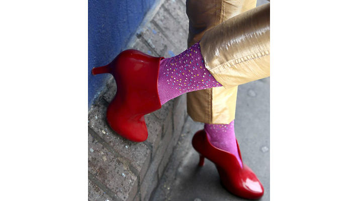 Have some experimental socks