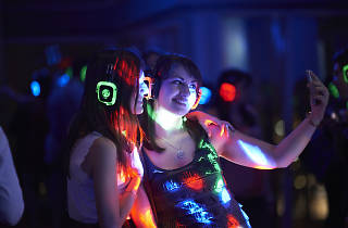 silent disco at the view from the shard