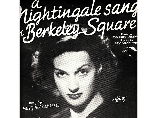 'A Nightingale Sang In Berkeley Square' – Judy Campbell (1940)