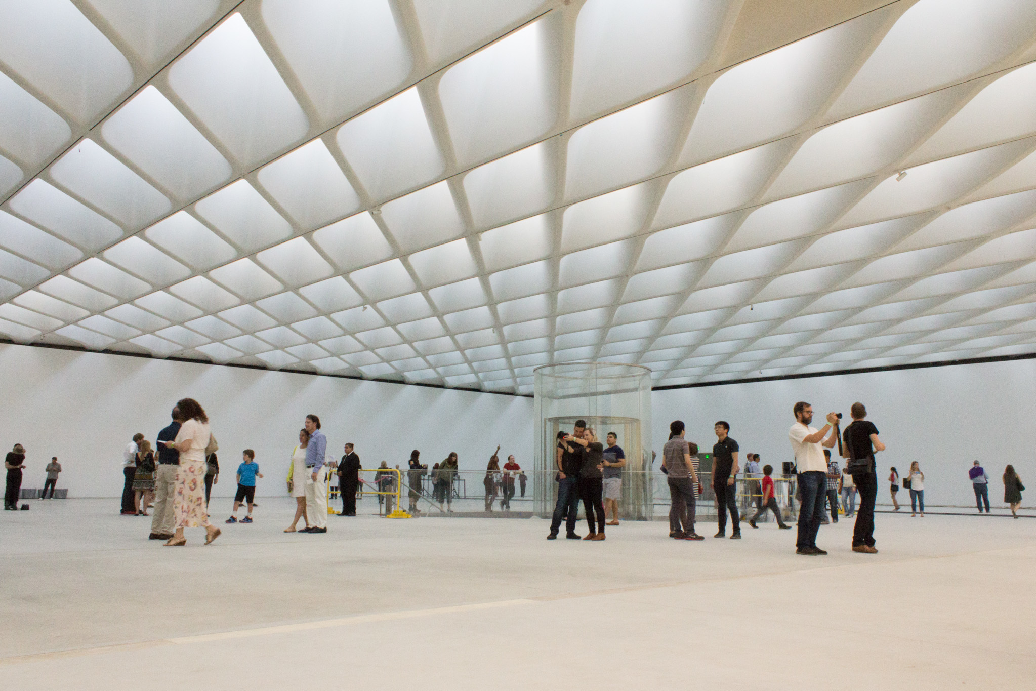 A preview of the Broad Museum