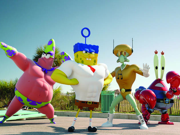The Spongebob Movie: Sponge Out Of Water Kids Party