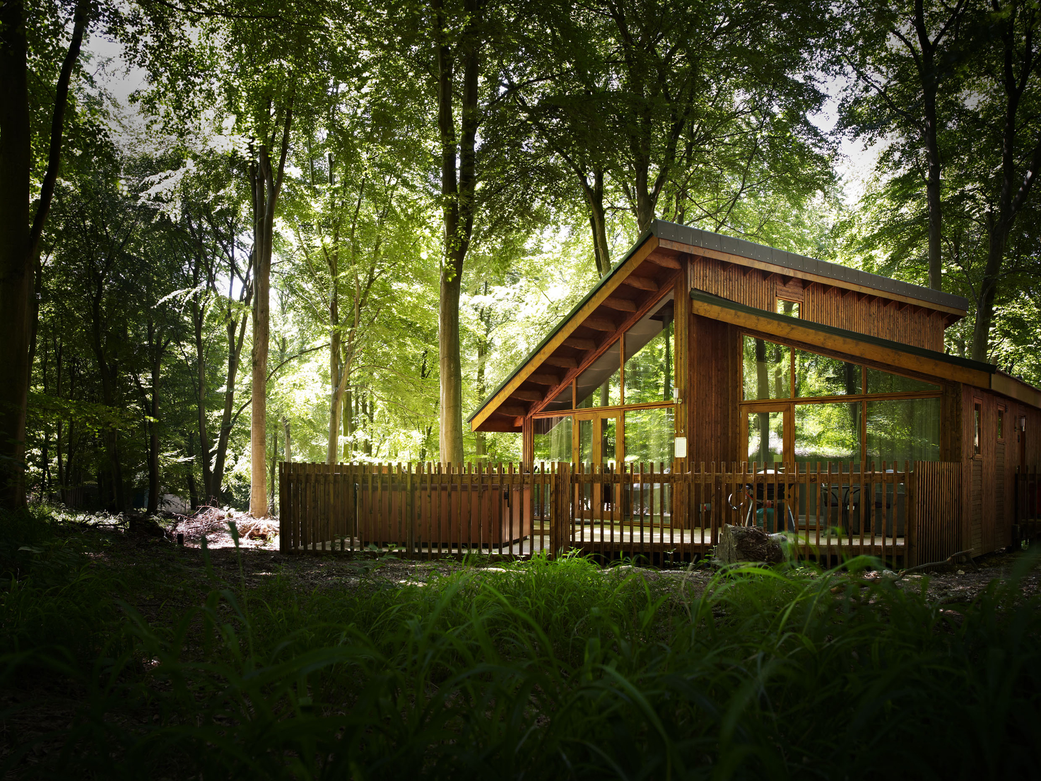 Win a romantic stay for two in a hideaway forest cabin