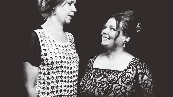 Joanna Scanlan and Vicki Pepperdine