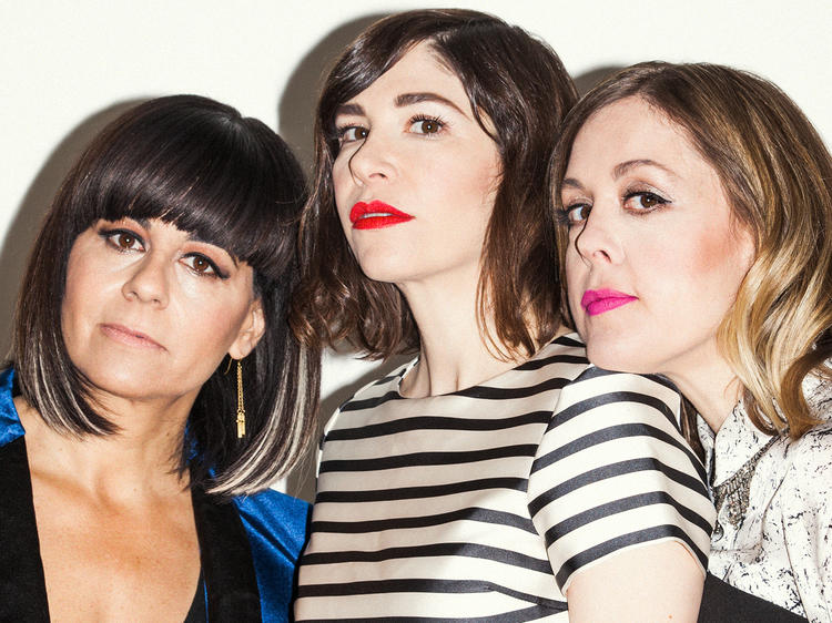 Outtakes of our shoot with Sleater-Kinney