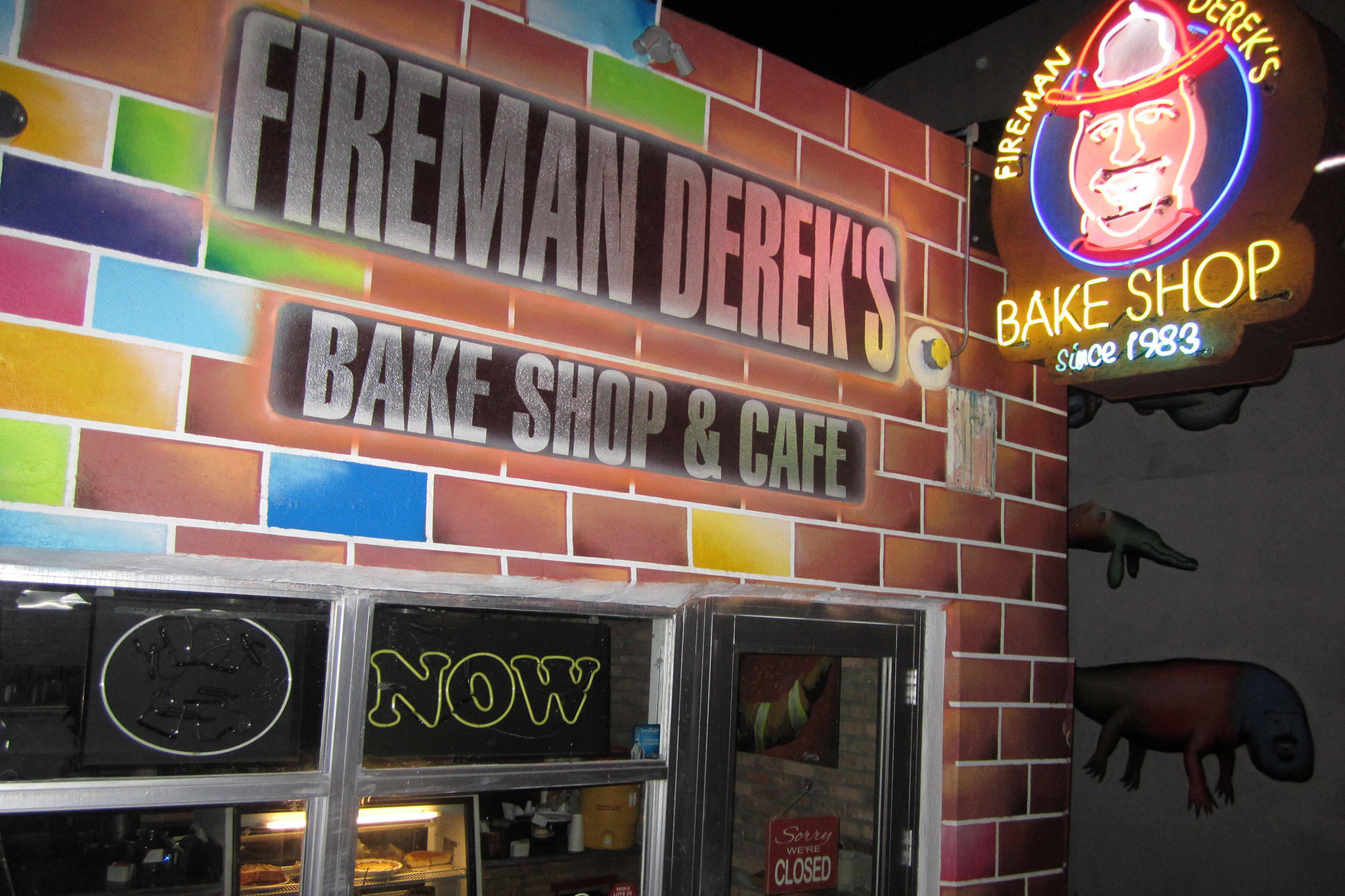 Fireman Derek's World-Famous Pies