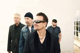 U2 played in the NYC subway last night
