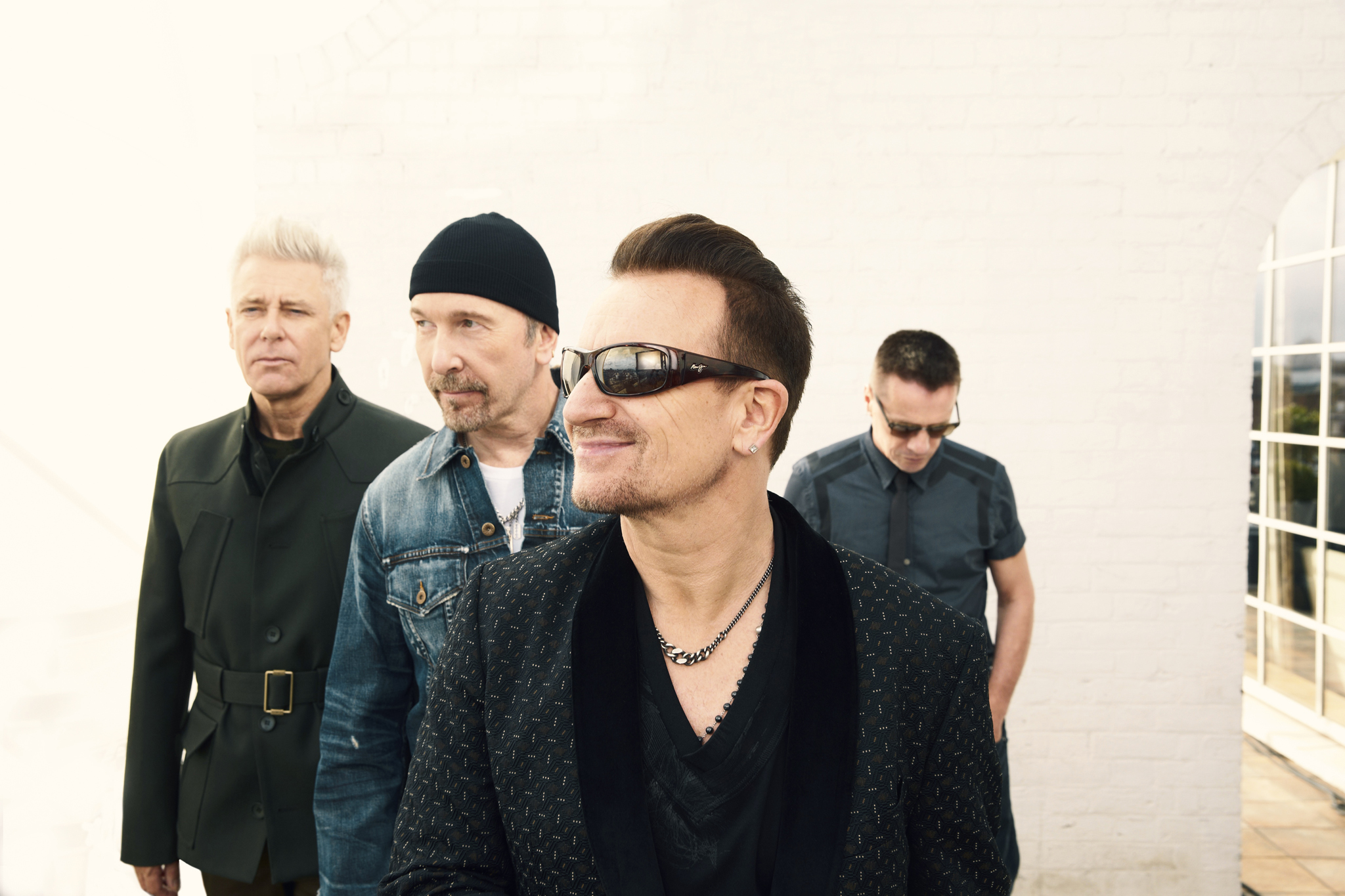 U2 played in the NYC subway last night