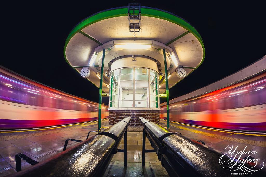 Hainault underground station.