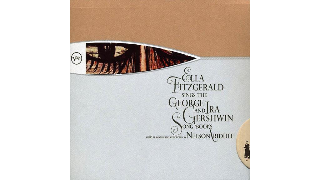 Ella Fitzgerald'sGershwin album cover