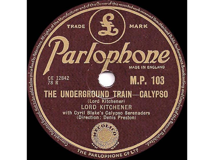 'The Underground Train' – Lord Kitchener (1950)