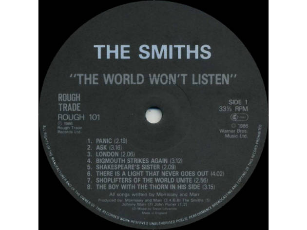 The Smiths – The World Won't Listen
