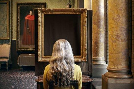 Sophie Calle. Que voyez-vous ? Le concert. Vermeer [Què hi veieu ? El concert. Vermeer], 2013 (detall)