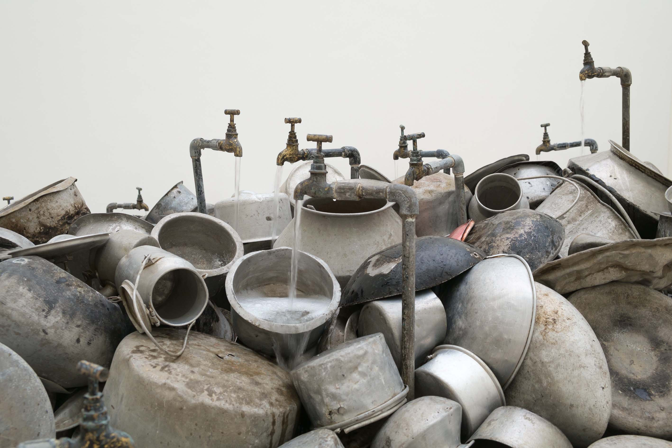 "Subodh Gupta, ""Seven Billion Light Years"""