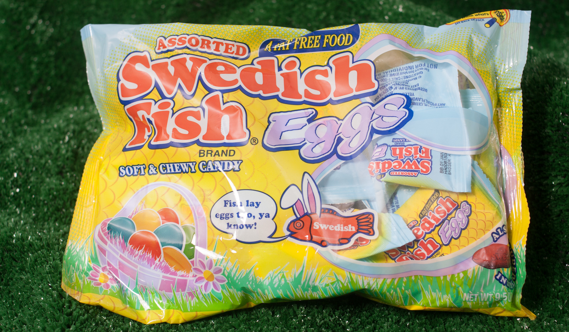 Taste test new spring and easter candy ranked for Swedish fish shot