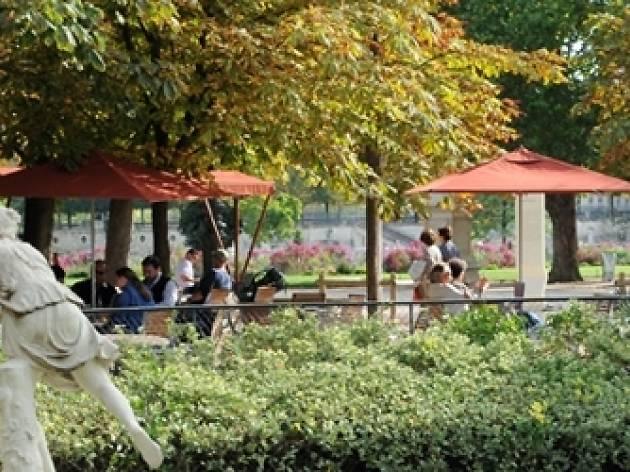 Le Café Diane du Jardin des Tuileries