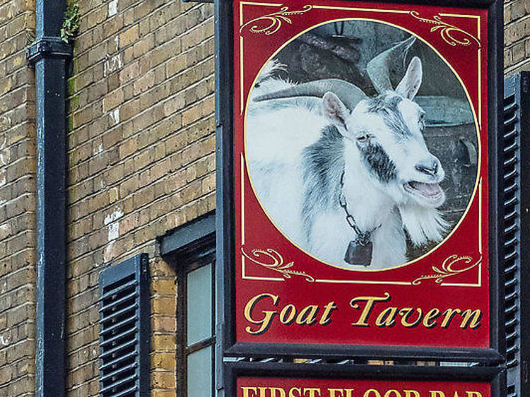 The Goat Tavern in Mayfair