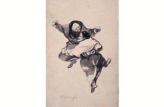 (Francisco Goya, 'Regozijo (Mirth)', c. 1919-23)