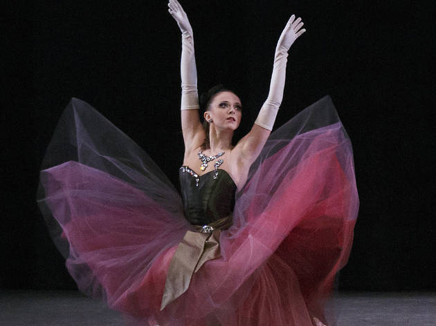 Marika Anderson, New York City Ballet in George Balanchine's La Valse
