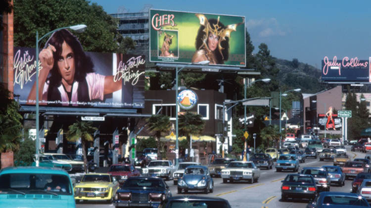 Rock & Roll Billboards of the Sunset Strip
