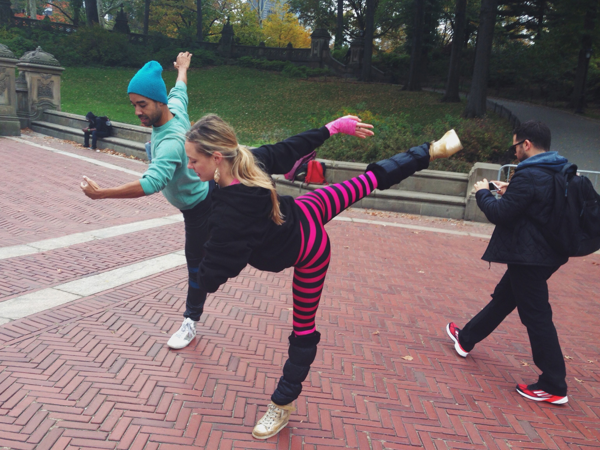 """Sara Mearns and Rashaun Mitchell of PLATFORM 2015: """"Dancers, Buildings and People in the Street"""""""