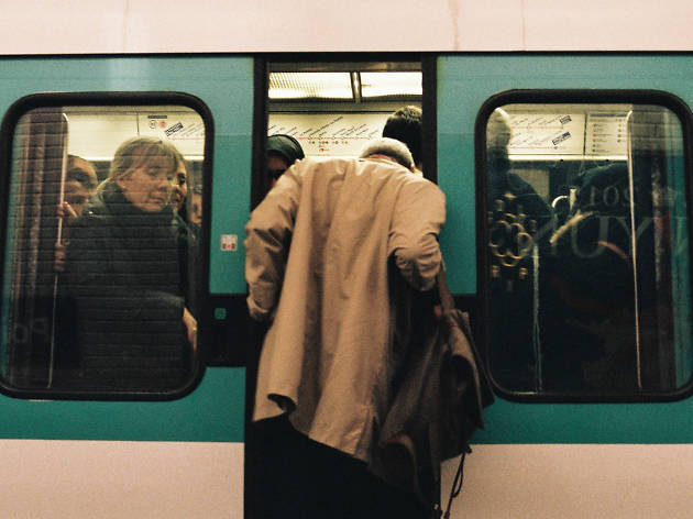 Métro Paris heure de pointe