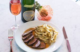 L'Assiette Steak Frites Hosts French Cookbook Author Cecile Delarue & the French Consulate