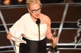 Patricia Arquette wins for Boyhood