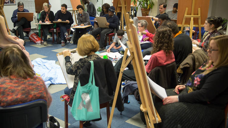 Drop-in Life Drawing Classes