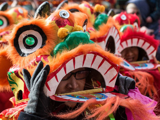 Chinese New Year 2015 - pictures and photos - London