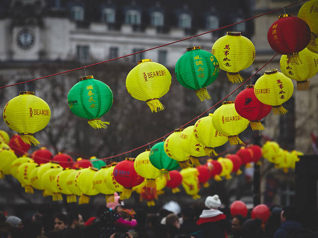 Chinese New Year 2015 in London