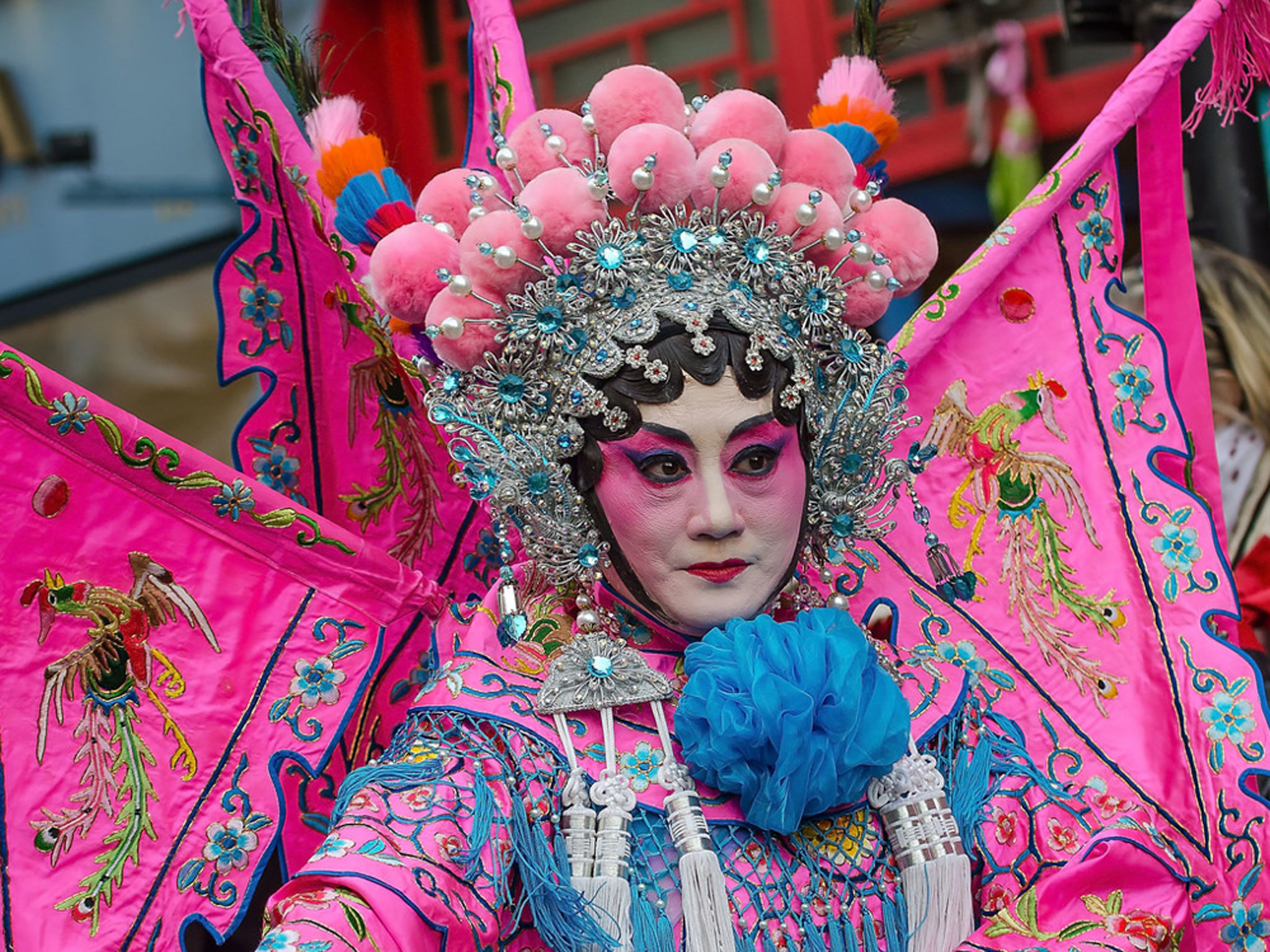 21 colourful pictures of Chinese New Year 2015