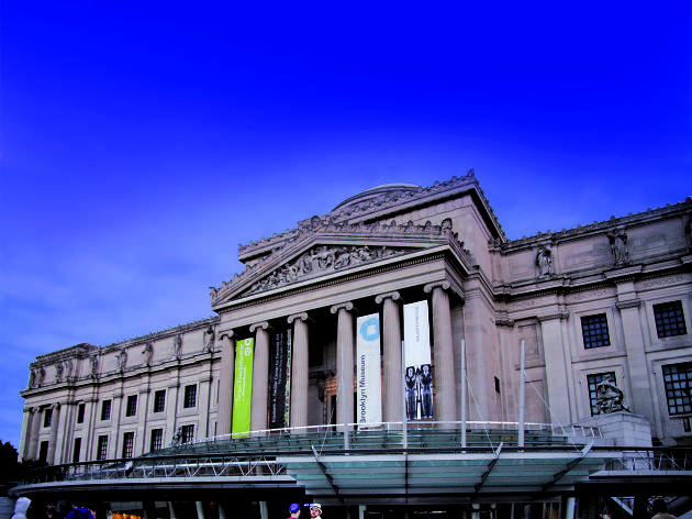 Exterior of the Brooklyn Museum.Brooklyn Museum photograph by Adam Husted