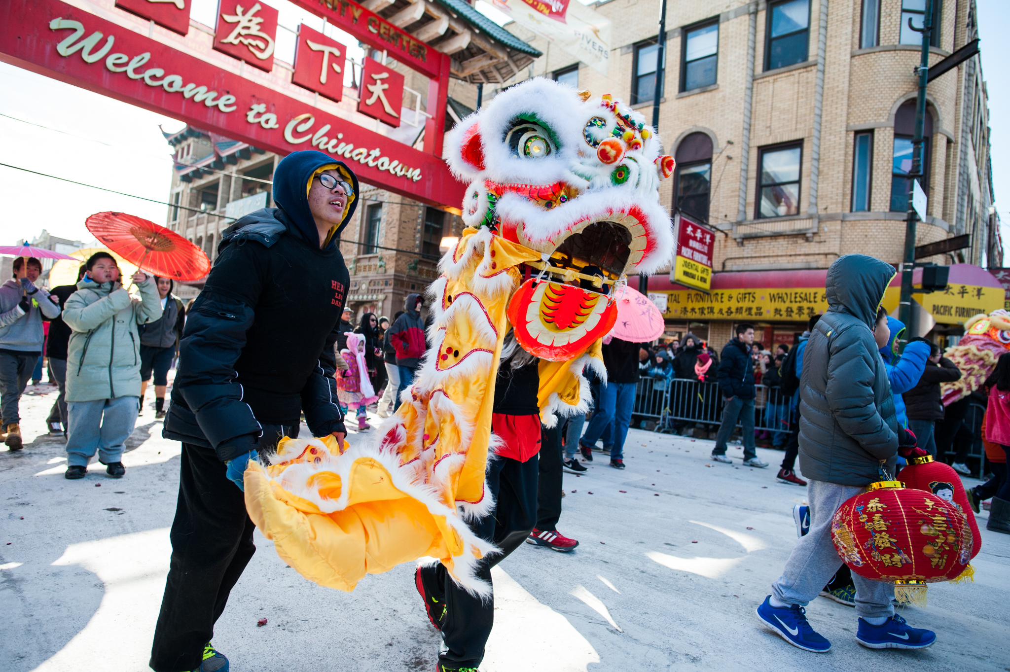 Chinatown celebrates Chinese New Year