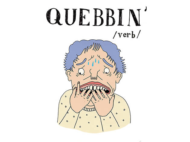 The A to Z of Northern slang - Q is for Quebbin'