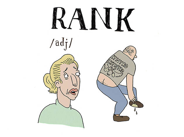 The A to Z of Northern slang - R is for Rank