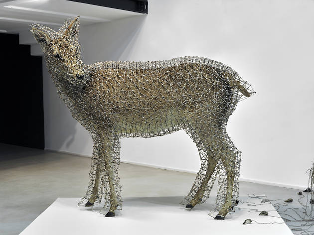 (Julien Salaud, 'Constellation de la biche II', 2012 / Courtesy Galerie Suzanne Tarasieve, Paris)