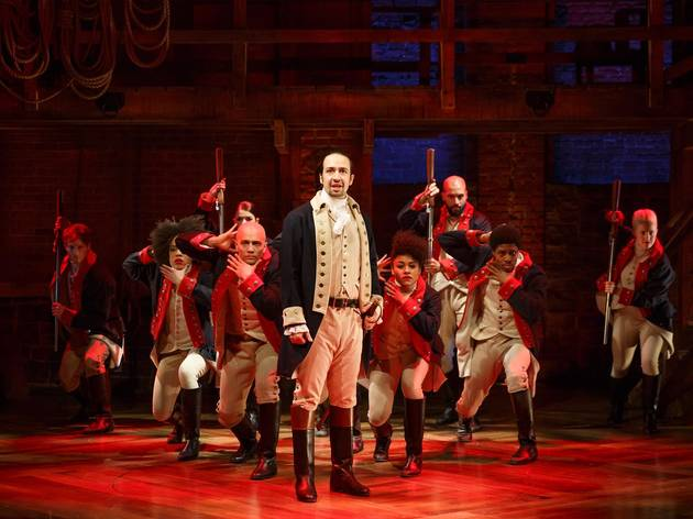 You can bid to be Lin-Manuel Miranda's guest at 'Hamilton' Chicago opening night