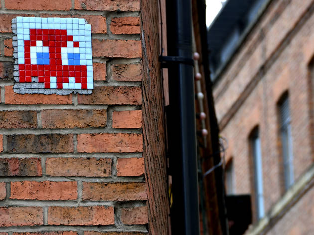 10 close encounters with Manchester's space invaders of public art
