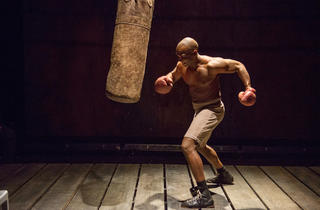 Jerod Haynes in The Royale at American Theater Company