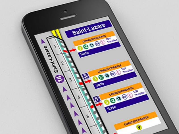 Connaître les souterrains comme sa poche : Paris-ci la sortie du métro