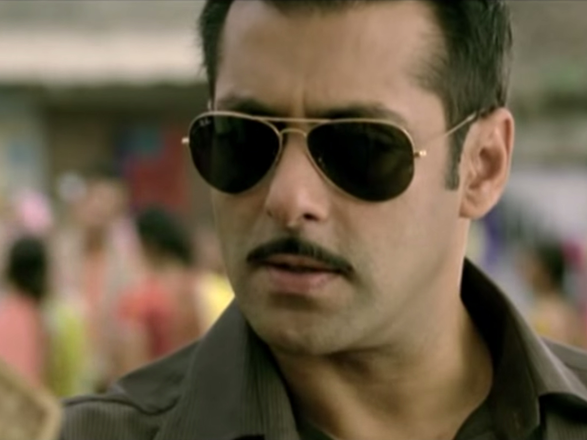 Hindi movie: Dabangg