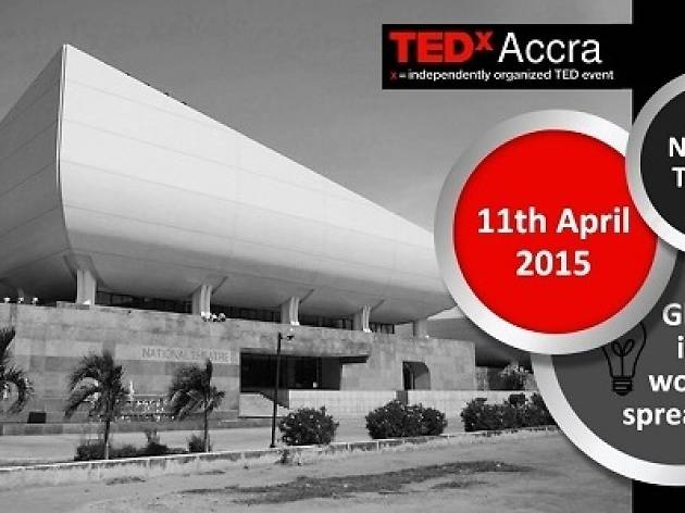 TEDx event, National Theatre, Ghana