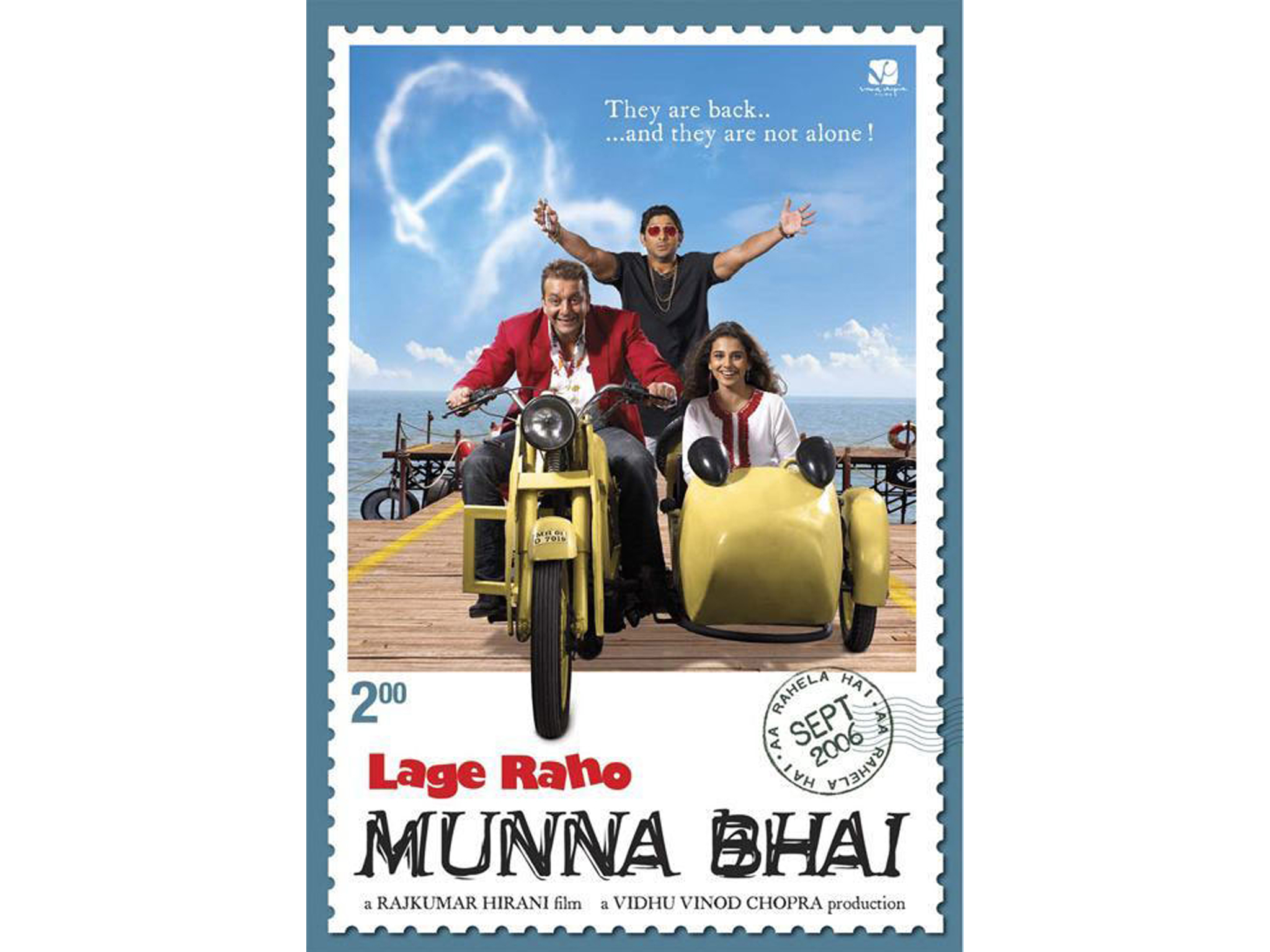 Hindi movie: Lage Raho Munna Bhai