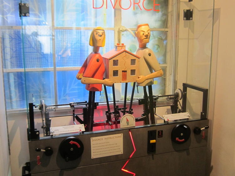 Get frisked by a mechanical artwork at Novelty Automation