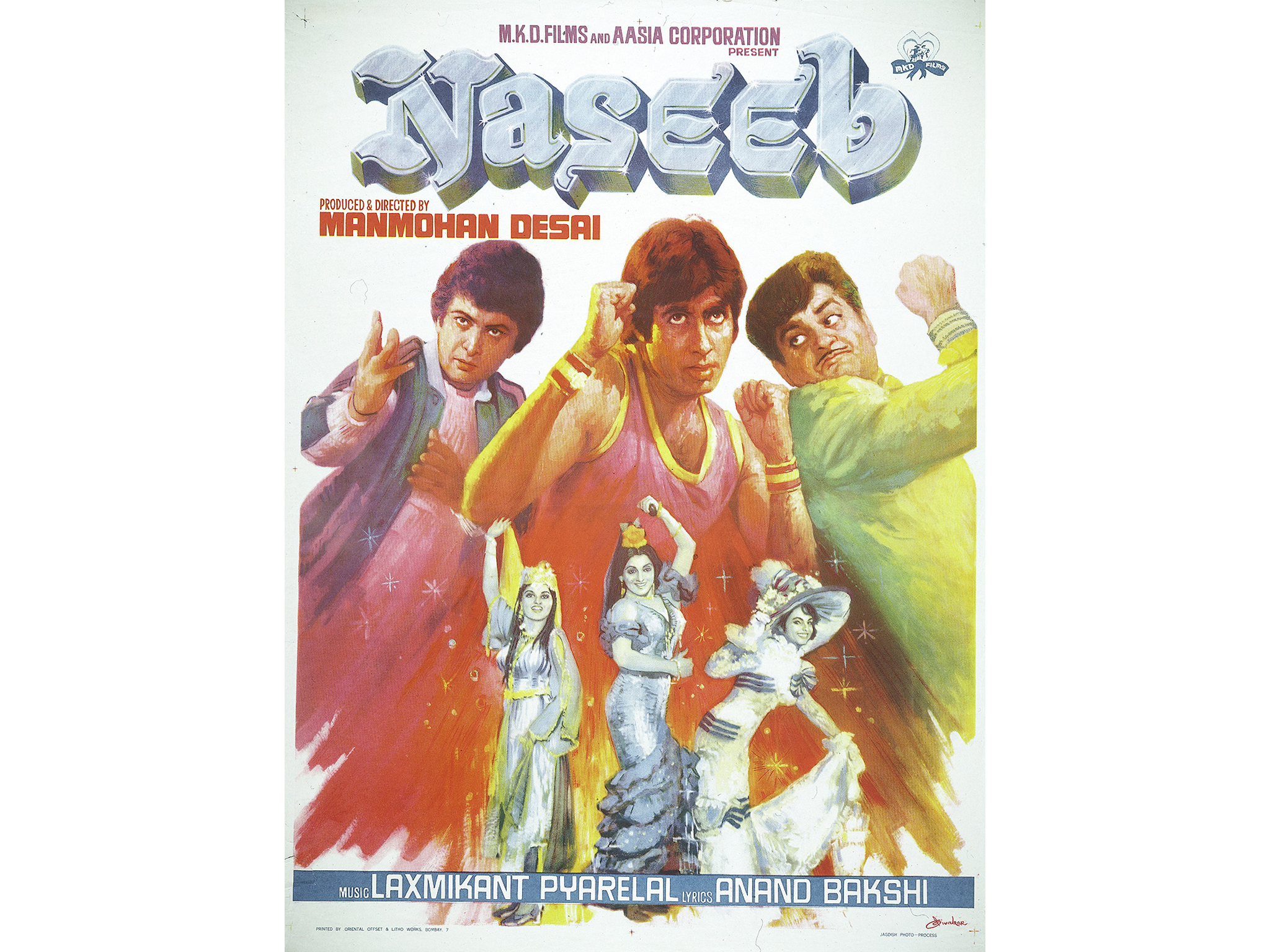 Hindi movie: Naseeb