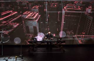 Mutek 2015: Murcof & Simon Geilfus + Herman Kolgen