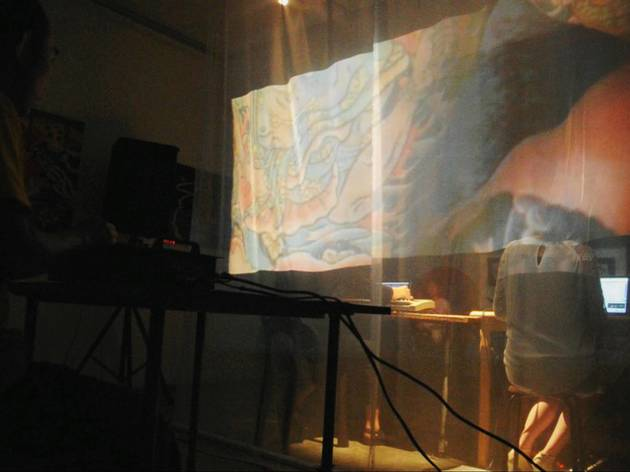 A\V: An Audio Visual Performance