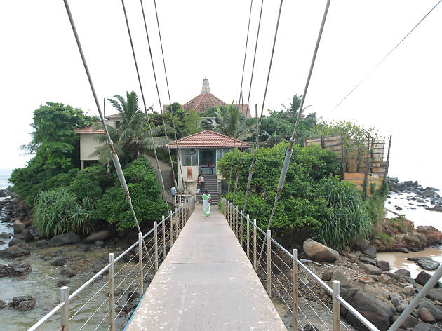 Sri Rohana Uposathagaraya is a religious place in Matara